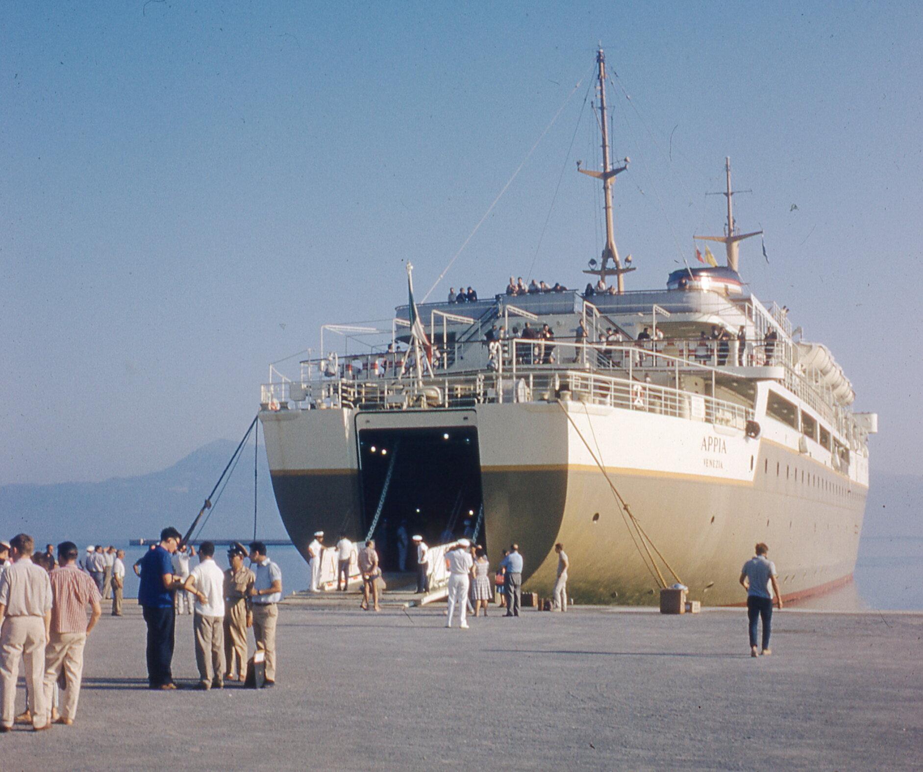Appia at Corfu