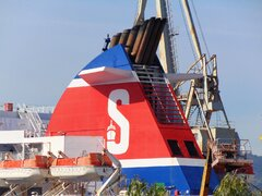 Stena Superfast X Funnel