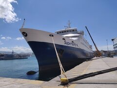 superferry II @piraeus