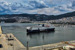 AQUA BLUE |Arrival at Kavala Port