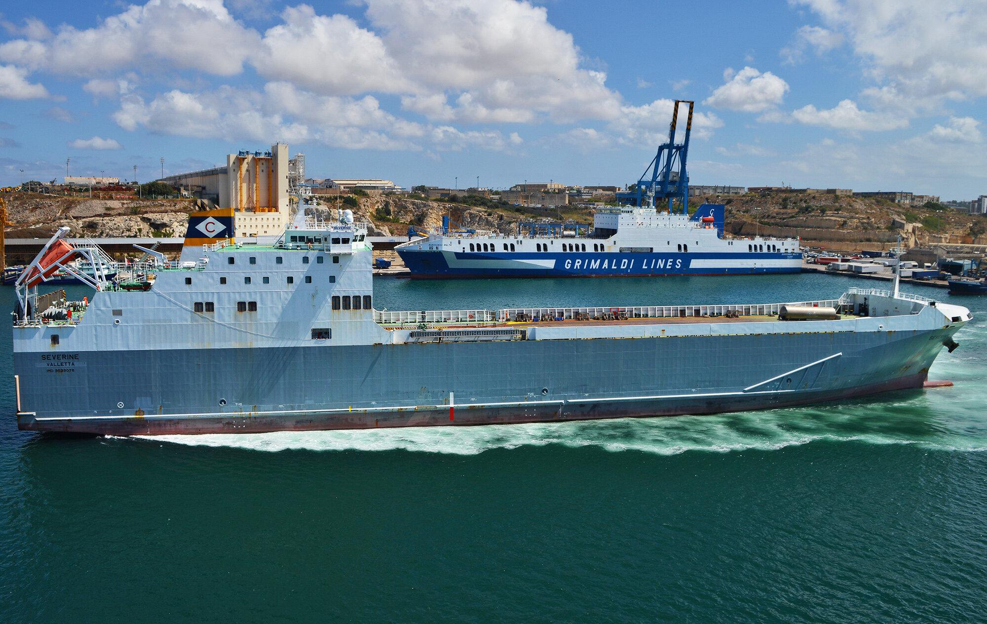 Severine & Eurocargo Malta