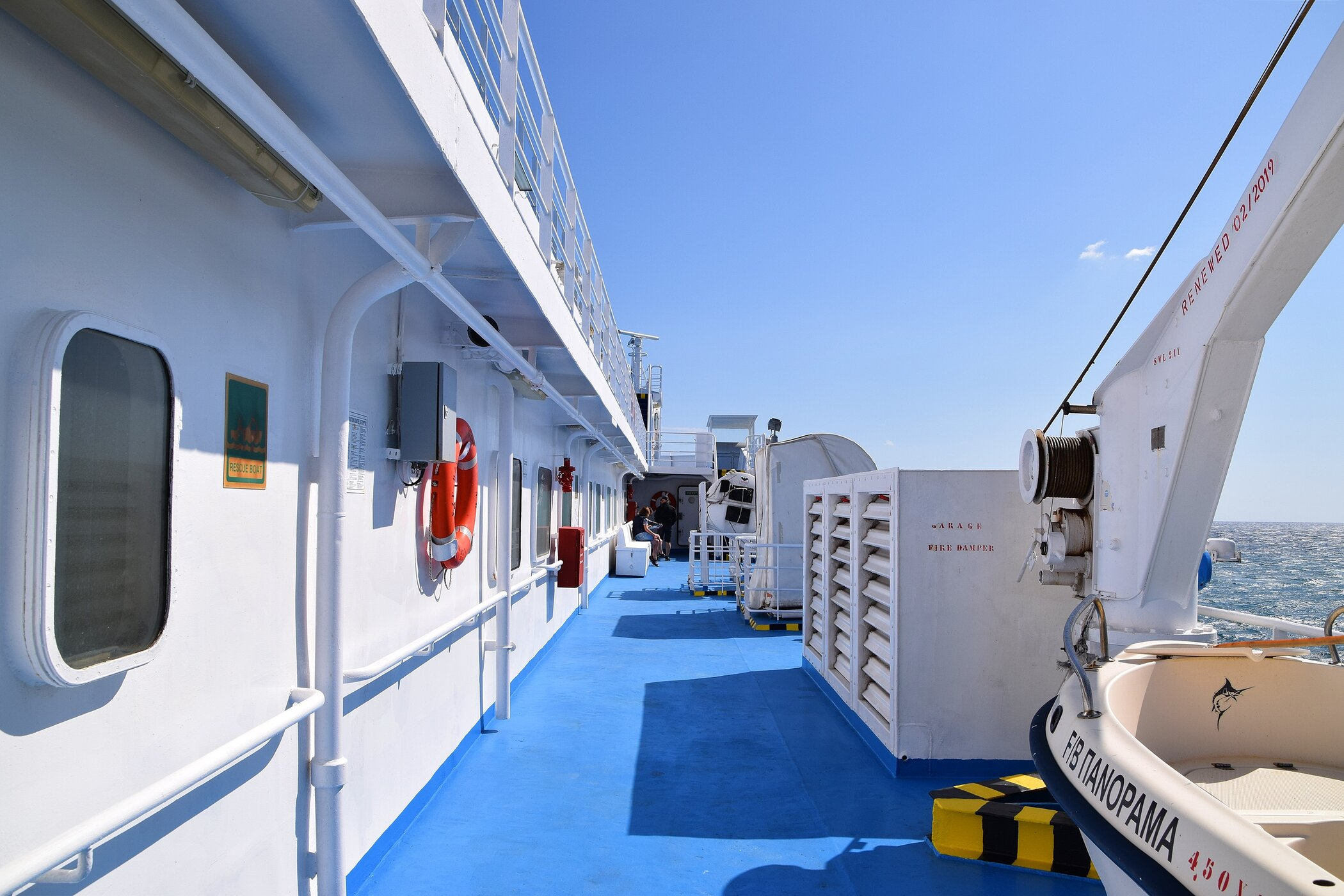 Panorama Stbd Side Deck 5 21/9/2019