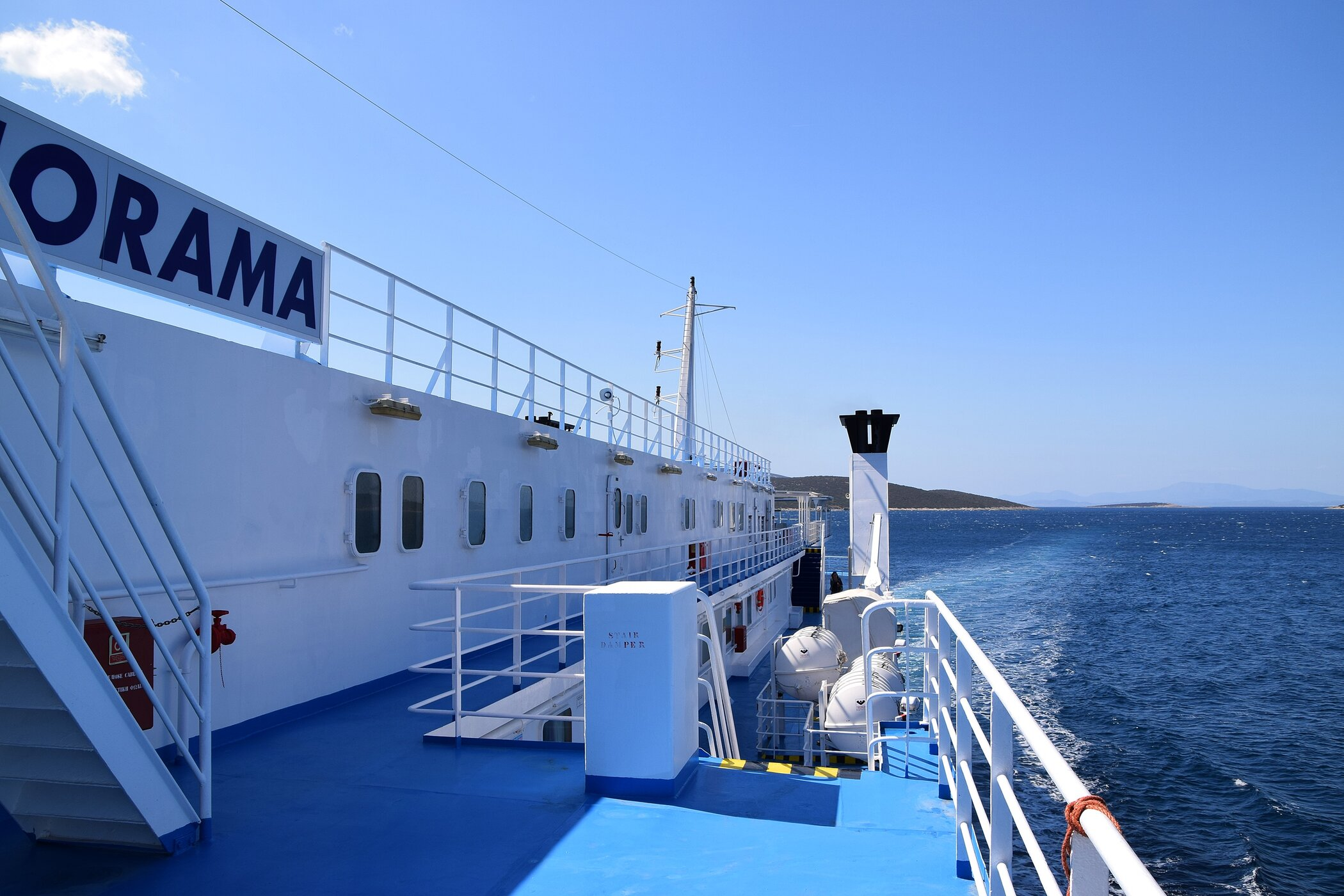 Panorama Port Side Wing View 21/9/2019