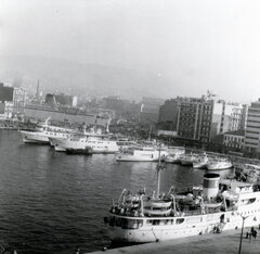 Piraeus port 70s