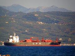 gaz providence @ anchor off kalamata 190720