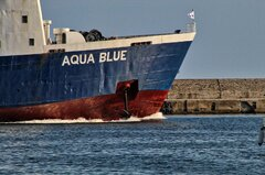AQUA BLUE |Summer departure from Kavala Port