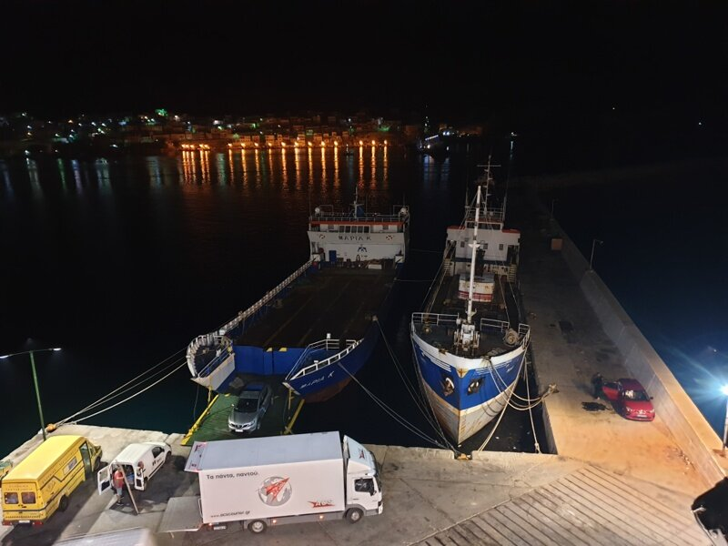 Kalimnos port