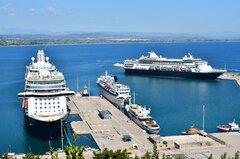 Mein Schiff 3_Aegean Majesty_Alfeios_Prince_Christina O_28-08-20_Katakolon