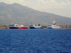superfast I florencia hellenic spirit @ patra new port 160820