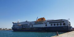 Blue Star 1 @ Piraeus bunkering