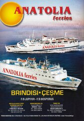 Anatolia Ferries 1998 Advertisment
