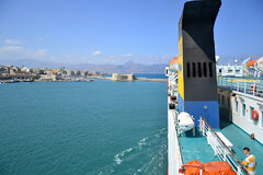 Prevelis entering Heraklion