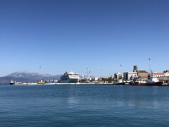 Patras' port
