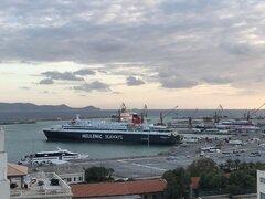 Heraklion Port morning 31102020