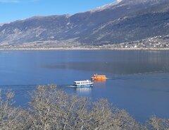 Lake pamvotida passenger vessels