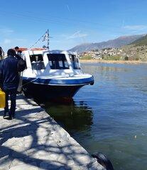 Unknown pas. vessel in lake pamvotida