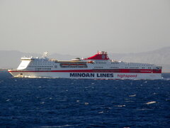europa palace @ patras gulf west bound 190709 a