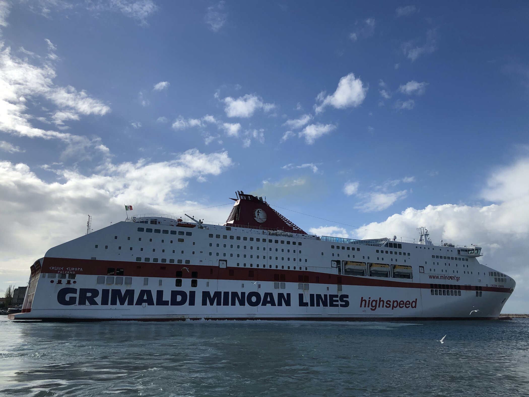 Cruise Europa @ Patra 28/12/20