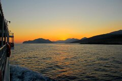 Express Skopelitis Katapola Aegiali sunrise 2014