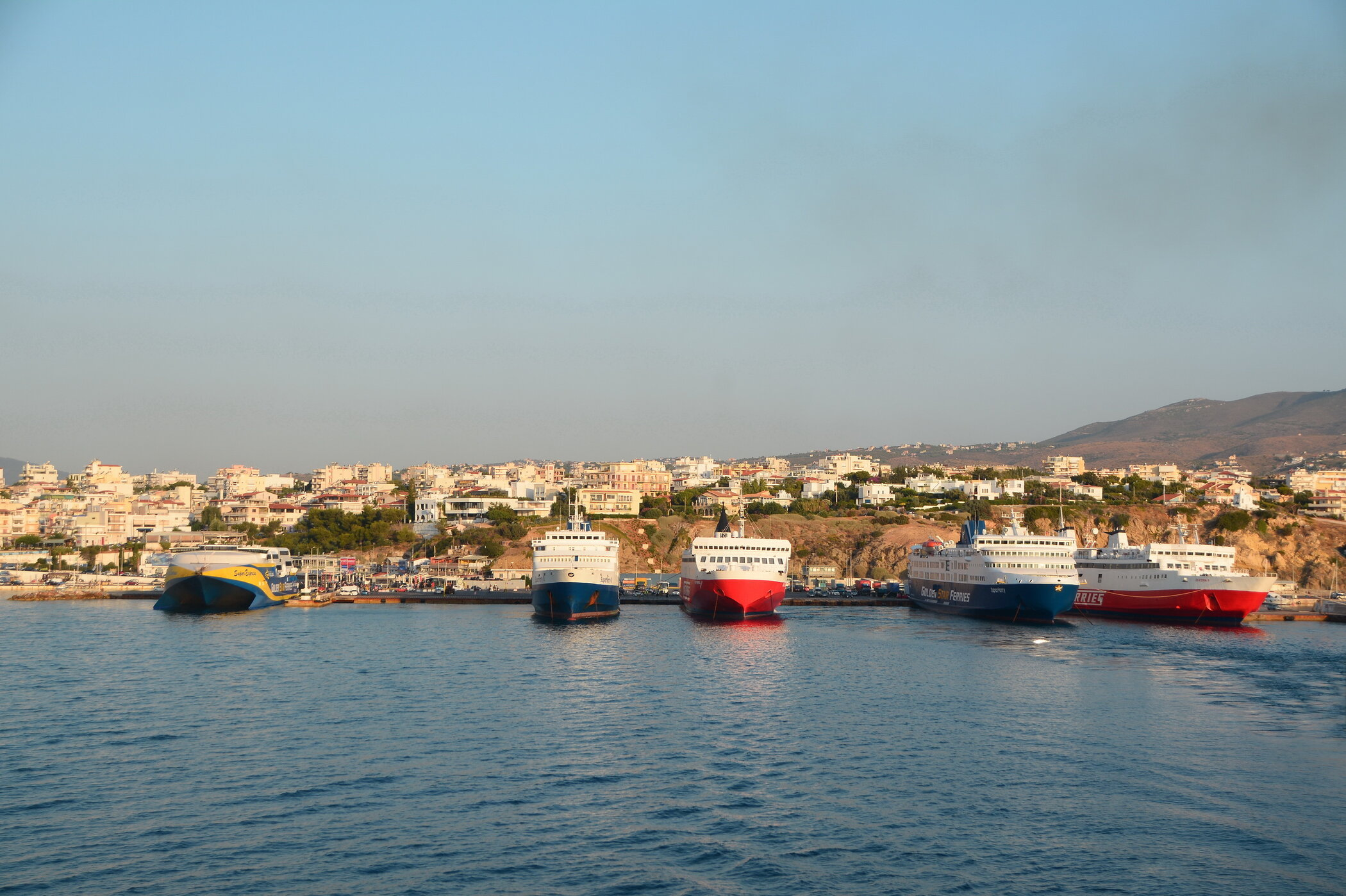 Superexpress - Superferry II - Fast Ferries Andros- Superferry -Ekaterini P
