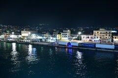 Chios port_awaiting the Nissos Rodos