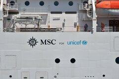 MSC Magnifica_Unicef logo
