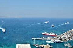 Ekaterini P_Theologos P_Fast Ferries Andros_Blue Star Myconos_Sifnos Jet_Flyingcat 4_01-08-21_Mykonos