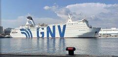 GNV ANTARES at NAPOLI