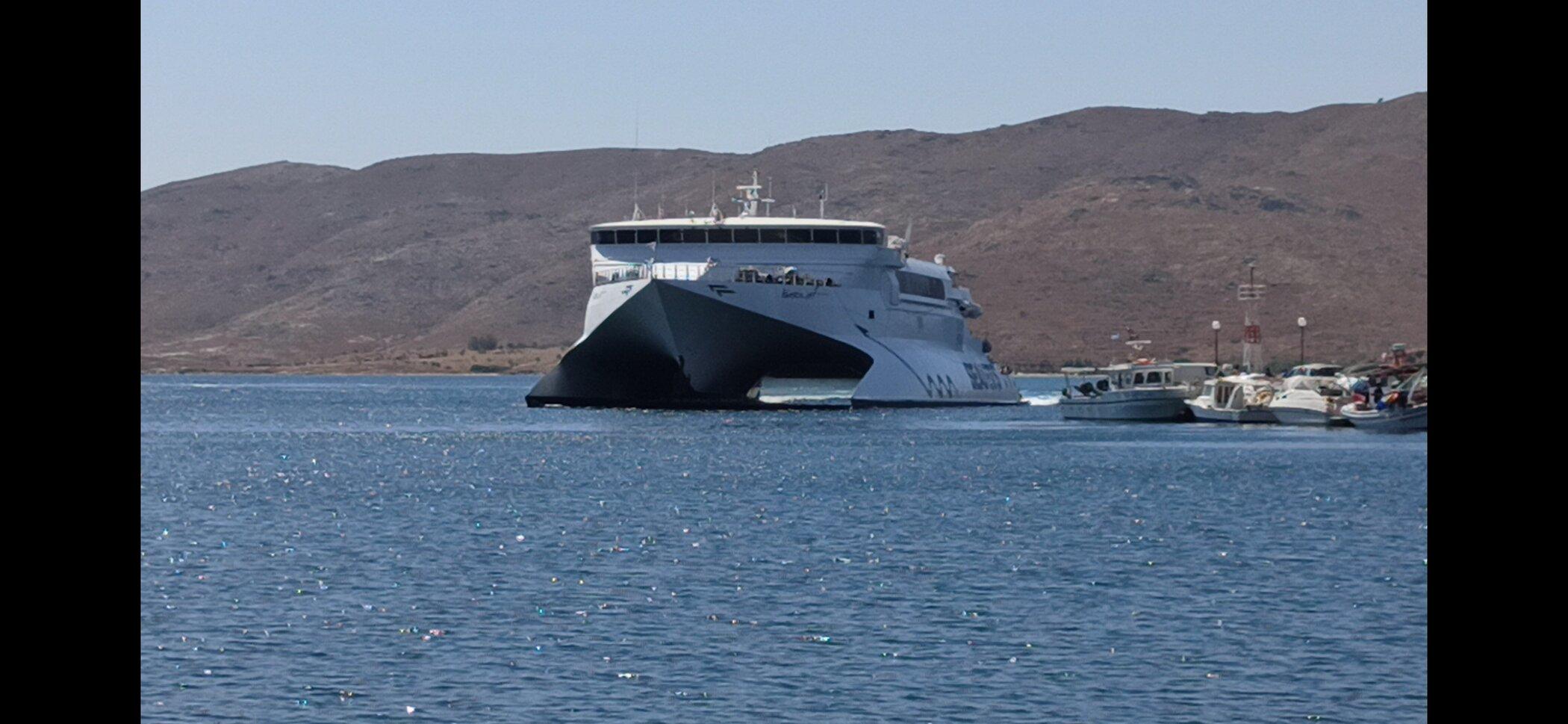 Naxos Jet in Karystos