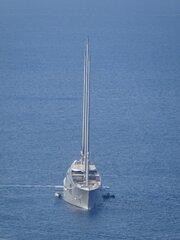 SAILING YACHT A off Capri 24.8.2021