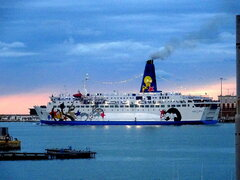 MOBY CORSE departing Ancona 27.8.2021