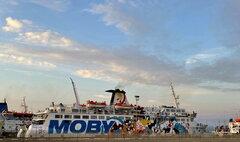 Moby Kiss @ Piombino Port