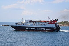 Express Skiathos Departing From Alonnisos 12/8/2021 2